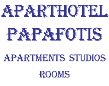 ApartHotel Papafotis - Apartments and Double or Twin Rooms